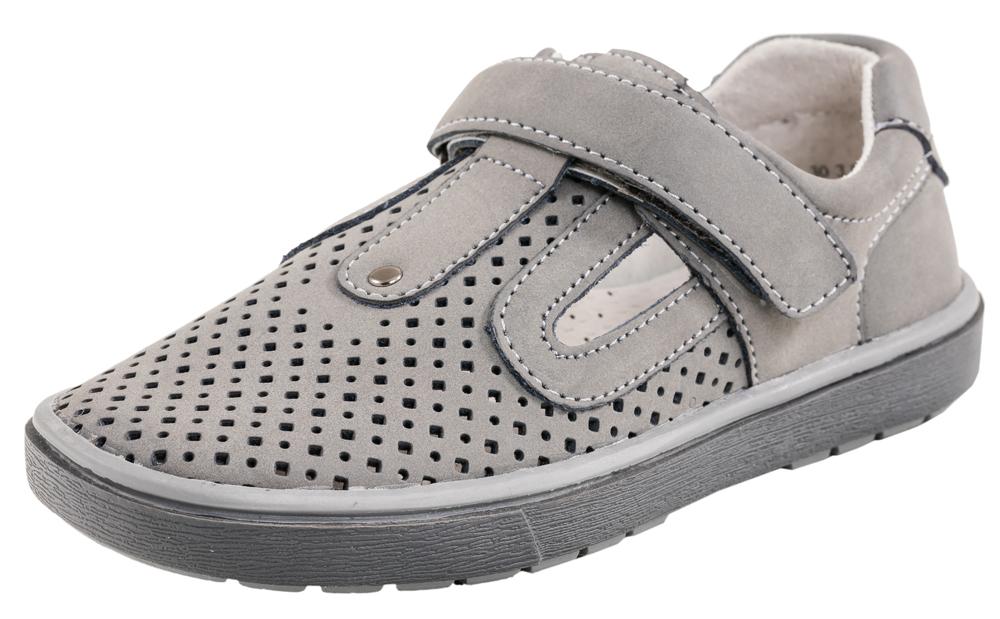 Туфли для мальчика. 532110-21532110-21Полуботинки для мальчика выполнены из натуральной высококачественной кожи. Удобная застёжка-липучка позволяет легко обувать и снимать обувь. Модель перфорирована, что позволяет ноге дышать при носке.
