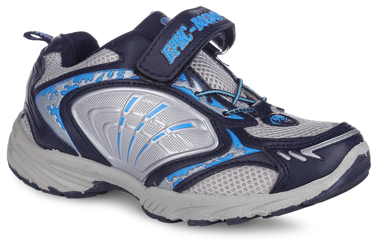 Кроссовки для мальчика. 14 -6/4 LС14 -6/4 LСМодные кроссовки от Bris придутся по душе вашему мальчику. Модель, выполненная из сетчатого текстиля и искусственной кожи, дополнена по бокам вставками из резины и оформлена на ремешке - надписью Брис-Босфор, на мыске и на заднике - фирменным логотипом, на язычке - фирменной вставкой. Ремешок с застежкой-липучкой и эластичная шнуровка обеспечат надежную фиксацию модели на ноге. Внутренняя поверхность из текстиля не натирает. Стелька из ЭВА материала с текстильной поверхностью гарантирует комфорт при движении. Подошва с рифлением обеспечивает идеальное сцепление с любой поверхностью. Оригинальные кроссовки - незаменимая вещь в гардеробе каждого мальчика!