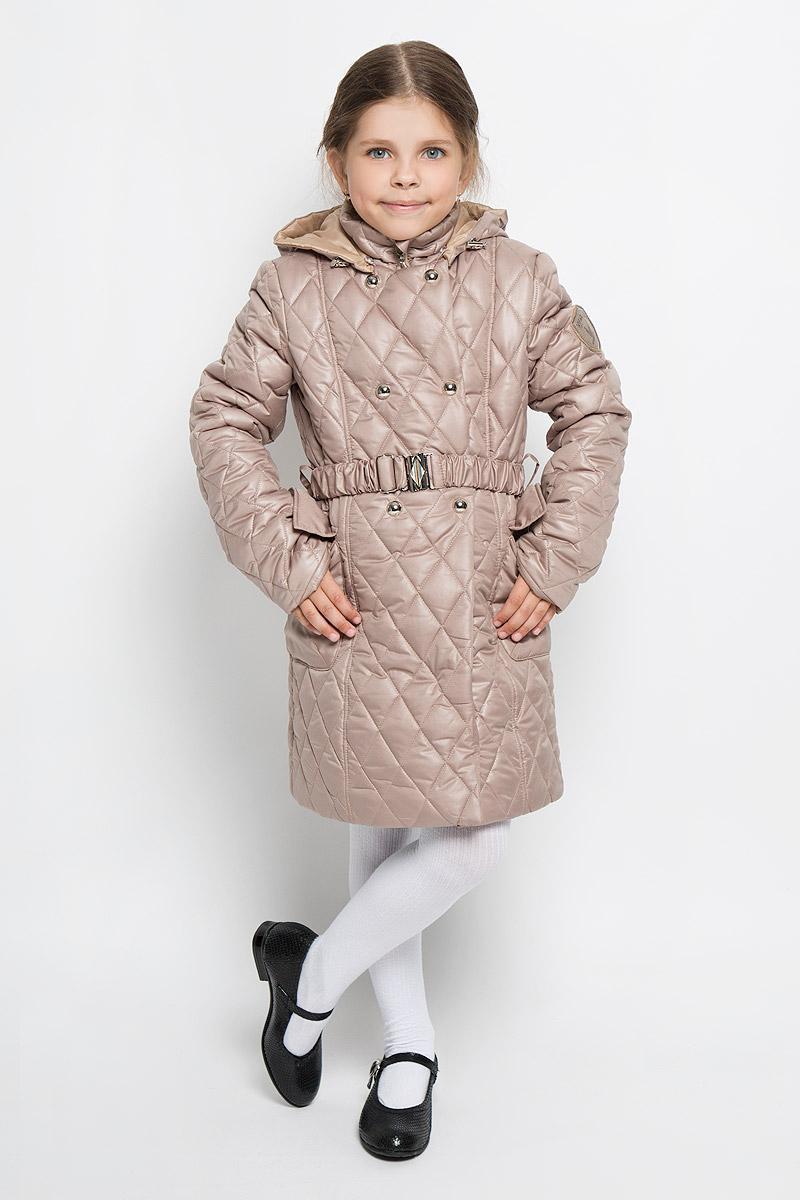 Boom! Пальто для девочки. 63574DM_BOG