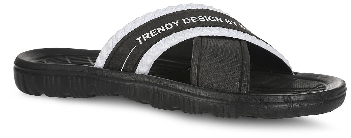 Шлепанцы для мальчика. 3270-1/63270-1/6Шлепанцы для мальчика от Bris - идеальный выбор, как для бассейна, так и для пляжного отдыха! Верх модели выполнен из материала ЭВА, подошва - из резины. Рифление на верхней поверхности подошвы предотвращает выскальзывание ноги. Рельефное основание подошвы гарантирует отличное сцепление с любой поверхностью. Модные шлепанцы покорят вашего мальчика своим дизайном и удобством!