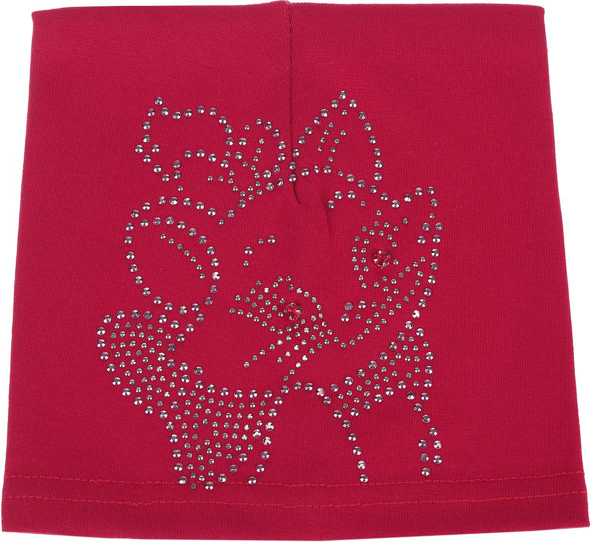 Шапка детская186-22-1Шапка для девочки InFante станет ярким и красивым дополнением к детскому гардеробу. Шапка выполнена из натурального хлопка, мягкая и приятная на ощупь, идеально прилегает к голове. Изделие оформлено оригинальным изображением кошечки из страз. Современный дизайн и расцветка делают эту шапку модным детским аксессуаром. В такой шапке ребенок будет чувствовать себя уютно, комфортно и всегда будет в центре внимания! Уважаемые клиенты! Размер, доступный для заказа, является обхватом головы.
