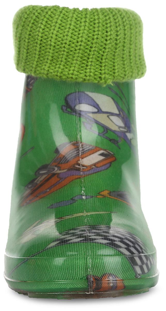 Сапоги резиновые для мальчика. 499-32 В RK