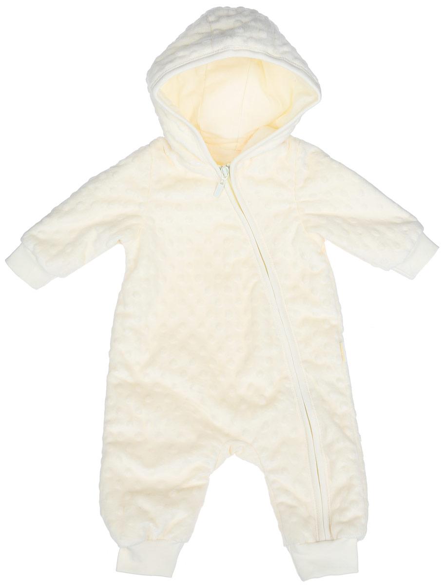 Комбинезон детский. KB99KB99-10Очаровательный детский комбинезон БЕМБІ - очень удобный и практичный вид одежды для малышей. Изготовленный из 100% полиэстера, он необычайно мягкий и приятный на ощупь, не раздражает нежную кожу ребенка и хорошо вентилируется, а эластичные швы приятны телу ребенка и не препятствуют его движениям. Подкладка выполнена из натурального хлопка. Комбинезон с длинными рукавами и капюшоном спереди застегивается на асимметричную застежку-молнию, что помогает легко переодеть малыша или сменить подгузник. Края рукавов и низ штанишек дополнены эластичными манжетами. С этим детским комбинезоном спинка и ножки вашего ребенка всегда будут в тепле. Комбинезон полностью соответствует особенностям жизни малыша, не стесняя и не ограничивая его в движениях!