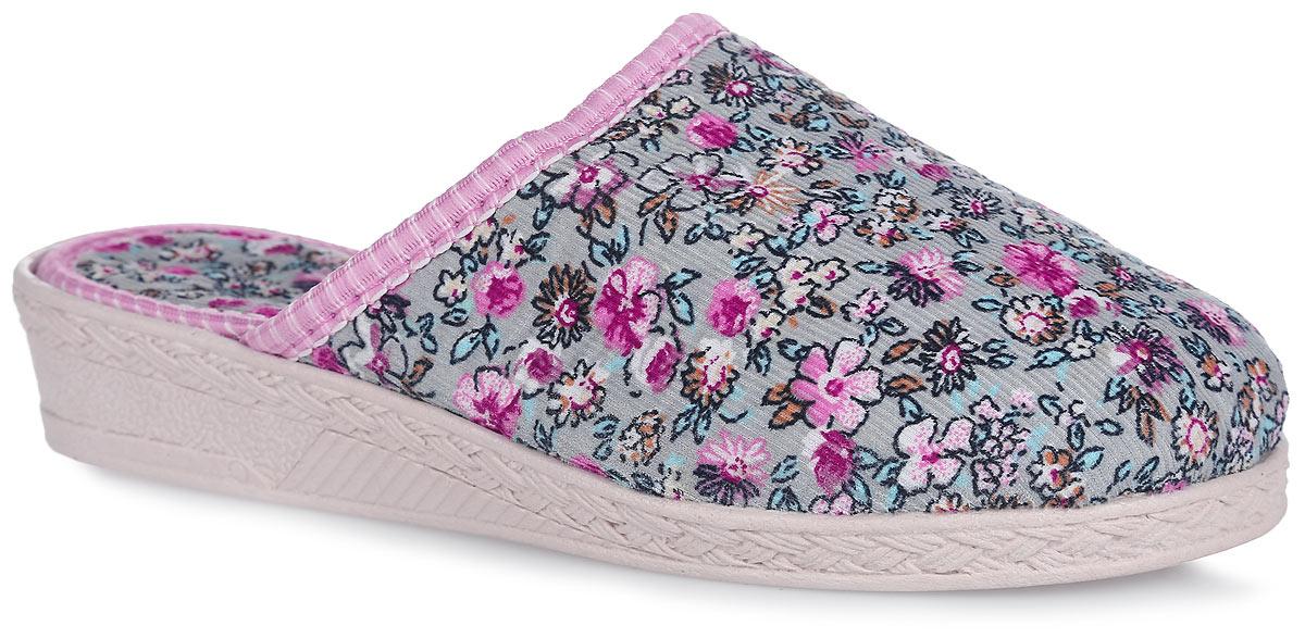 306 -113Домашние тапки от Bris придутся по душе вашей девочке! Модель выполнена из текстиля и оформлена цветочным принтом. Подкладка и стелька из мягкого текстиля не дадут ногам вашей девочки замерзнуть. Рифление на подошве обеспечивает идеальное сцепление с любой поверхностью. Чудесные тапки подарят чувство уюта и комфорта.