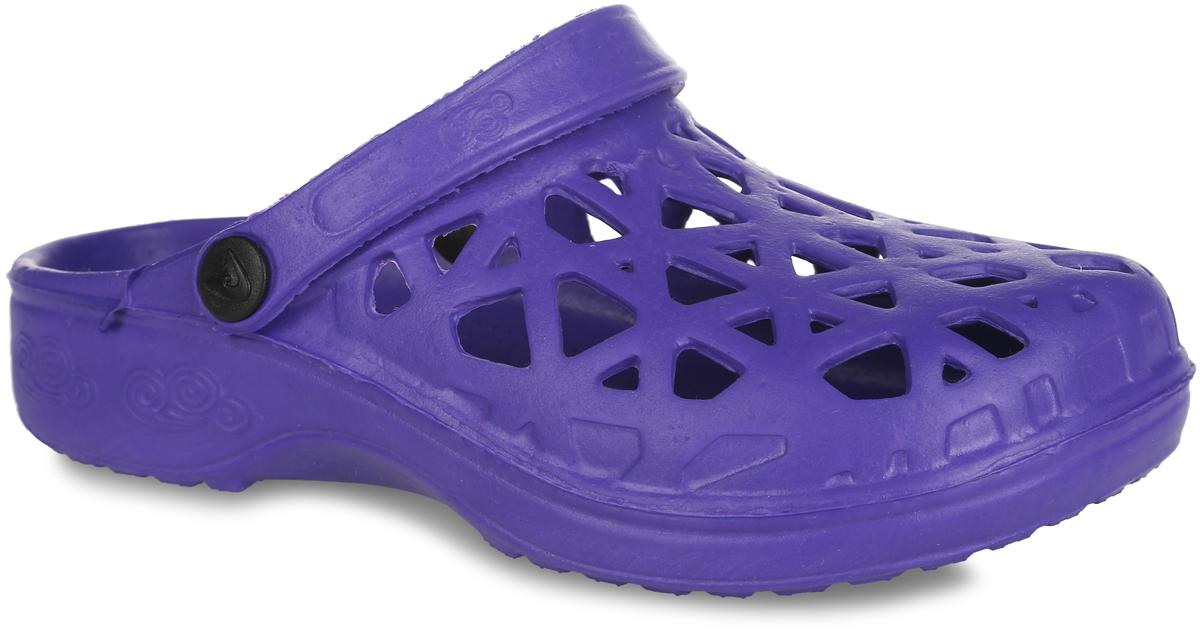 022-14Прелестные сабо от Bris придутся по душе вашей девочке. Модель полностью изготовлена из материала ЭВА, благодаря которому обувь невероятно легкая и удобная, она легко моется и быстро сохнет. Верх модели оформлен перфорацией, которая обеспечивает естественную вентиляцию. Пяточный ремешок предназначен для фиксации стопы при ходьбе. Рифление на подошве гарантирует идеальное сцепление с любой поверхностью. Такие сабо - отличное решение для каждодневного использования в жаркую погоду.