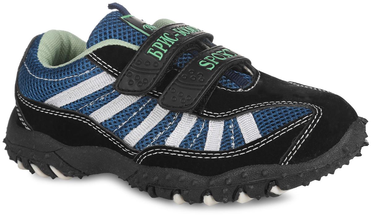 Кроссовки15 -4/10 LСМодные кроссовки от Bris придутся по душе вашему мальчику. Модель, выполненная из сетчатого текстиля и искусственной кожи, оформлена контрастной прострочкой, на ремешках - надписями Брис-Босфор и Sport, на язычке - фирменной нашивкой. Ремешки с застежками-липучками обеспечат надежную фиксацию модели на ноге. Внутренняя поверхность из текстиля не натирает. Стелька из ЭВА материала с текстильной поверхностью гарантирует комфорт при движении. Подошва с рифлением обеспечивает идеальное сцепление с любой поверхностью. Оригинальные кроссовки - незаменимая вещь в гардеробе каждого мальчика!