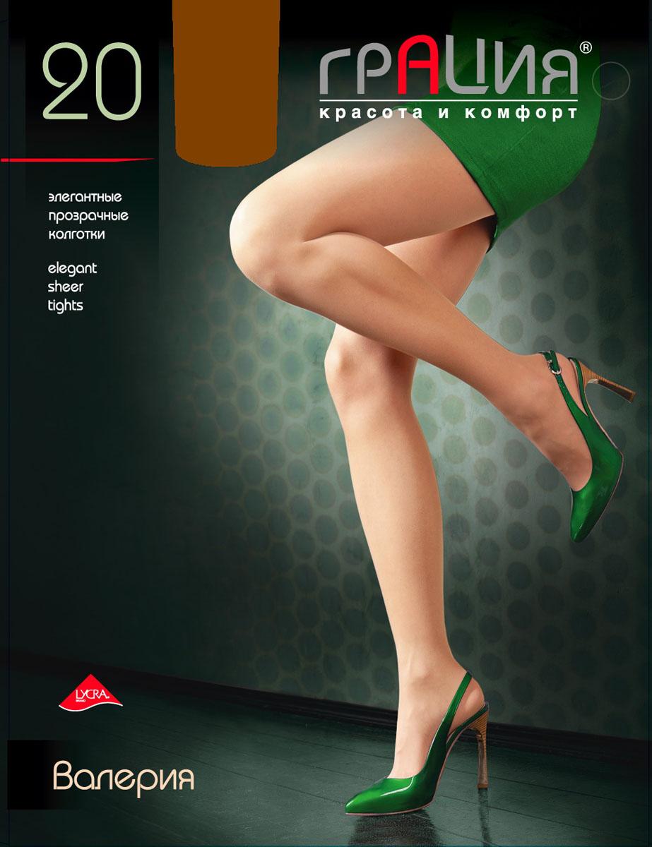 Колготки жен. Валерия 20Валерия 20Классические прозрачные колготки на каждый день с усиленным верхом и уплотненным мыском.