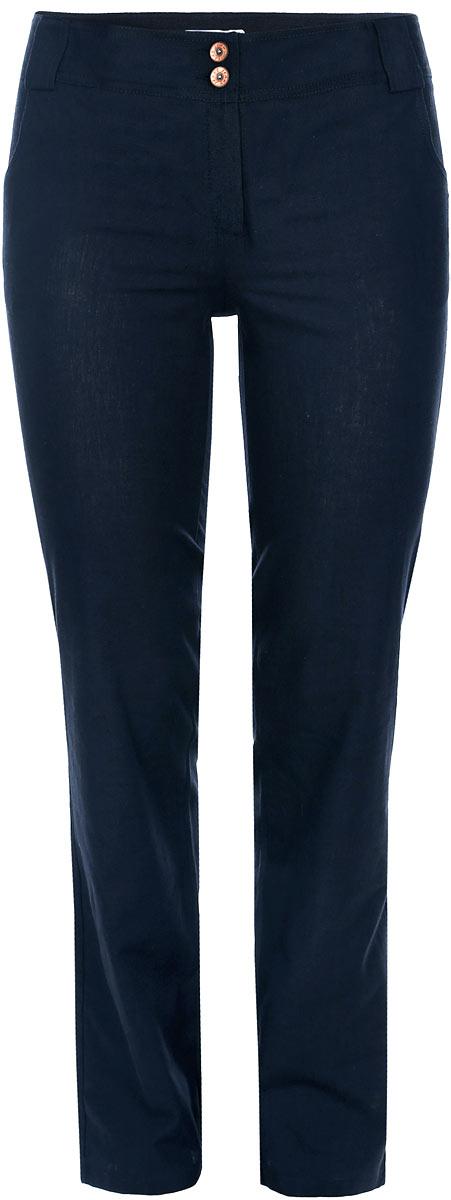 Брюки женские. 0885B6002-0885Стильные женские брюки Yarmina, выполненные из материала высочайшего качества, отлично подойдут на каждый день. Модель стандартной посадки и прямого кроя застегивается на ширинку на застежке-молнии, а также на две пуговицы по поясу. Пояс дополнен шлевками для ремня. Изделие спереди оформлено двумя втачными карманами, а сзади двумя накладными карманами. Эти модные и в тоже время комфортные брюки послужат отличным дополнением к вашему гардеробу. В них вы всегда будете чувствовать себя уютно и уверенно.