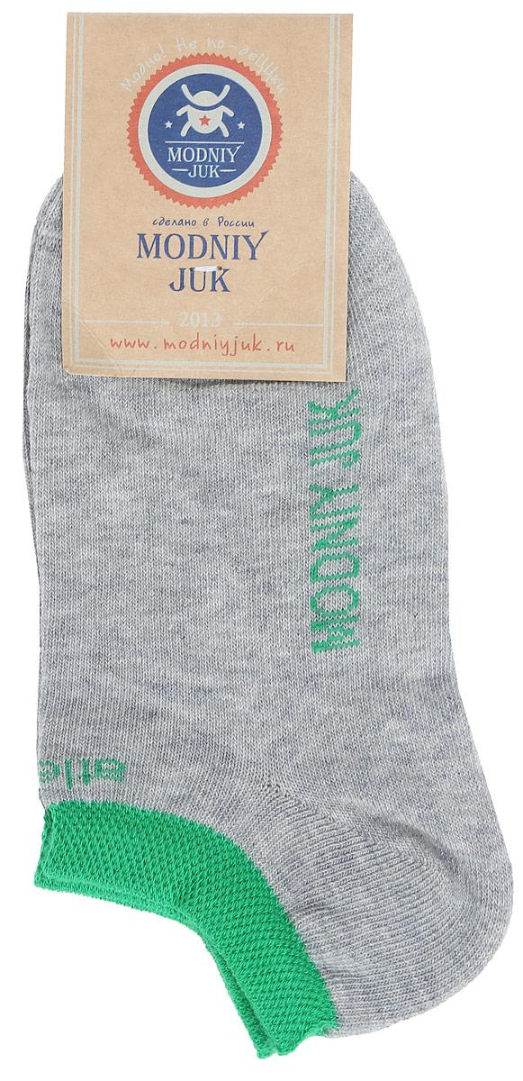 Носки для мальчика Juk Athletics. MJ-4MJ-4/JUK_ATHLETICS/Стильные укороченные детские носки Modniy Juk Juk Athletics, изготовленные из высококачественного эластичного хлопка с добавлением полиамида, идеально подойдут вашему ребенку. Такие носки превосходно тянутся, пропускают воздух и позволяют коже дышать, а полиамид в составе обеспечивает дополнительную прочность и износостойкость. Эластичная резинка плотно облегает ножку малыша, не сдавливая ее, благодаря чему ребенку будет комфортно и удобно. Усиленная пятка и мысок обеспечивают надежность и долговечность.