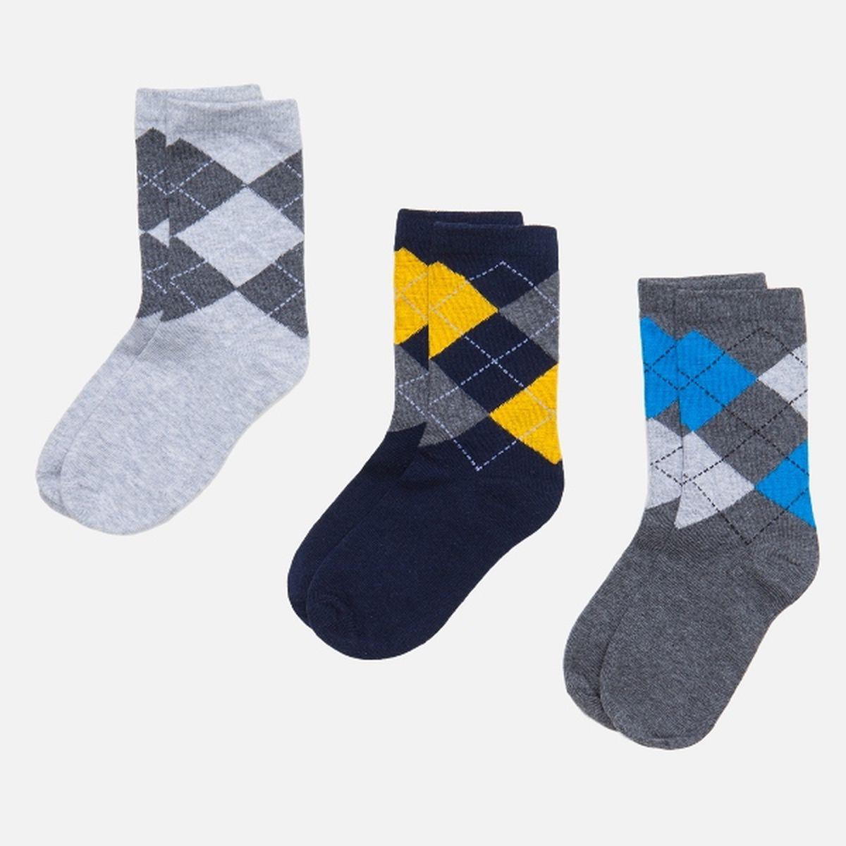 Носки для мальчиков Kotter, 3 шт. 3211442001732114420017_4400