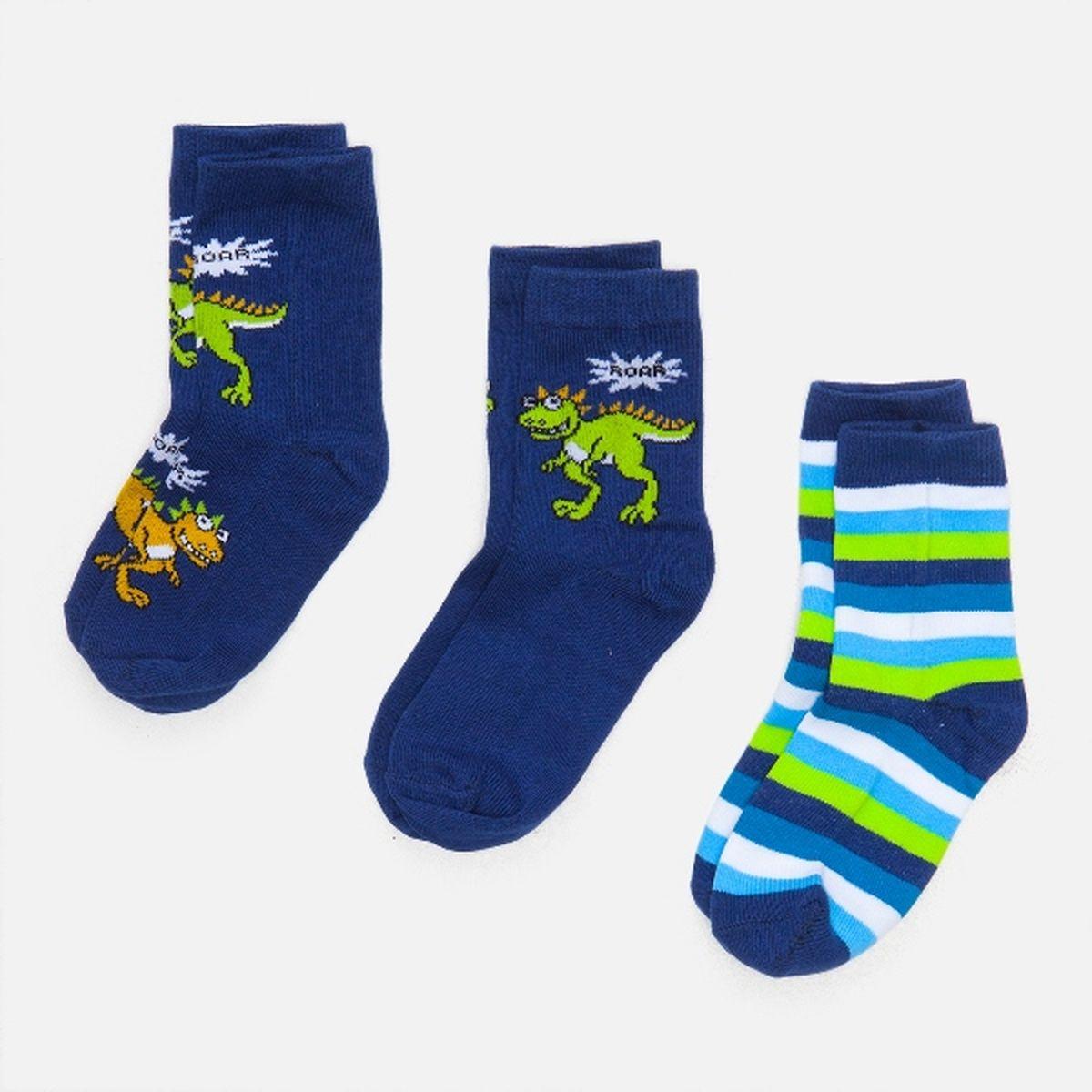 Носки для мальчиков Tinner, 3 шт. 3212442001132124420011_4400