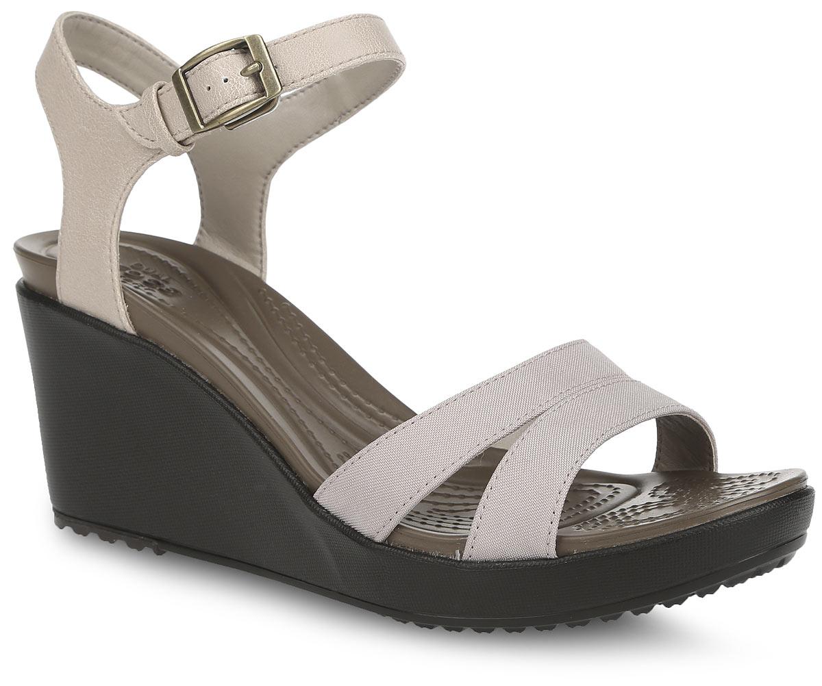Crocs Босоножки Leigh II Ankle Strap Wedge. 202511