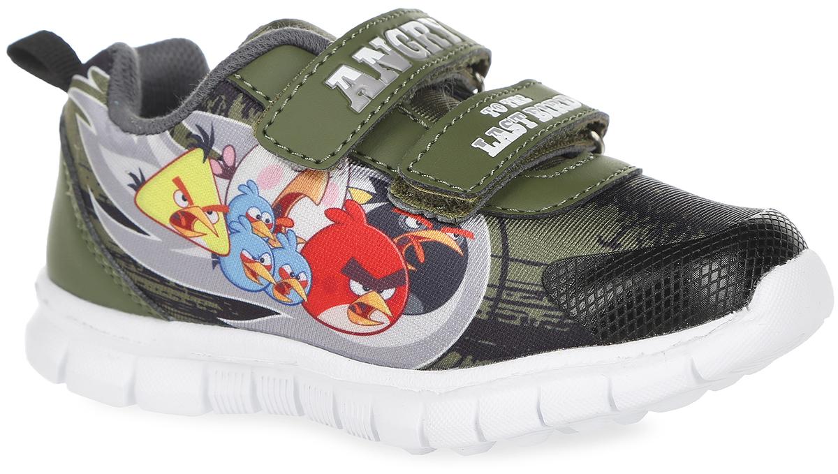 5890CУльтрамодные кроссовки Angry Birds от Kakadu очаруют вашего малыша с первого взгляда! Модель выполнена из текстиля со вставками из синтетической кожи. Обувь оформлена сбоку принтом с изображением персонажей знаменитой игры Angry Birds. Ярлычок на заднике предназначен для удобства обувания. Ремешки на застежках-липучках надежно фиксируют изделие на ножке. Подкладка выполнена из гипоаллергенного натурального хлопка - материала, который позволяет коже дышать и хорошо впитывает влагу. Амортизирующая стелька с антибактериальной пропиткой обладает высокой воздухопроницаемостью, прекрасно впитывает лишнюю влагу, нейтрализует неприятный запах и придает дополнительный комфорт при ходьбе. Подошва с протектором обеспечивает идеальное сцепление с любой поверхностью. Эффектные кроссовки приведут в восторг вашего мальчика!
