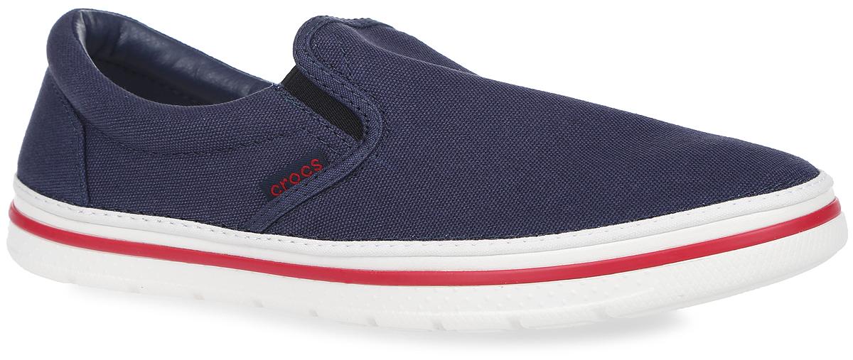 Слипоны201084-04OМодные слипоны Norlin Slip-on от Crocs заинтересуют вас своим дизайном с первого взгляда! Модель, изготовленная из плотного текстиля, сбоку оформлена нашивкой с названием бренда. Эластичные вставки по бокам обеспечивают идеальную посадку модели на ноге. Стелька из материала EVA с текстильной вставкой обеспечивает максимальный комфорт при движении. Внутренняя поверхность из текстиля и искусственной кожи не натирает. Подошва из материала Croslite очень легкая и гибкая. Рифление на подошве гарантирует идеальное сцепление с поверхностью. Стильные слипоны займут достойное место в вашем гардеробе.
