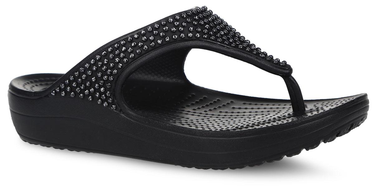 Crocs ������ �� ��������� ������� Sloane Diamante Flip. 203128