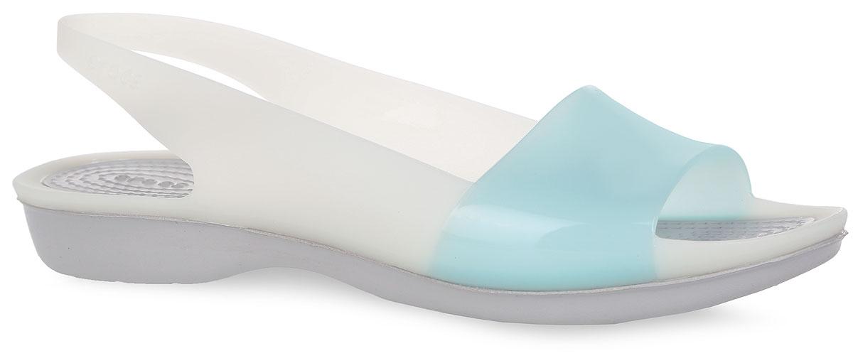 Crocs Босоножки ColorBlock Flat. 200032