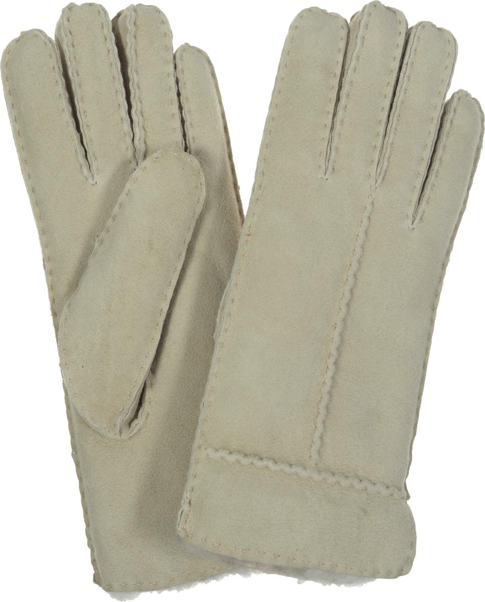 Перчатки женские. 25.1125.11-2 chocolatСтильные женские перчатки Fabretti не только защитят ваши руки, но и станут великолепным украшением. Перчатки выполнены из чрезвычайно мягкой и приятной на ощупь мелковорсистой натуральной кожи, а их подкладка - из натурального меха. Перчатки оформлены наружными ручными швами. Стильный аксессуар для повседневного образа.