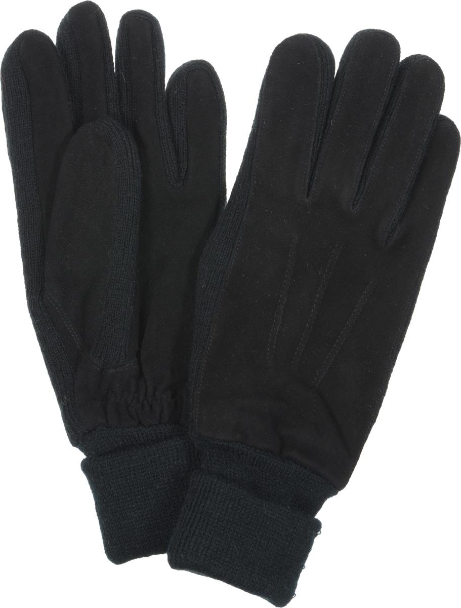 42.1-1Женские перчатки Fabretti оригинального исполнения станут великолепным дополнением вашего образа и защитят ваши руки от холода и ветра во время прогулок. Перчатки изготовлены из высококачественного комбинированного материала (замши и трикотажа), что позволяет им надежно сохранять тепло. Они мягкие и идеально сидят на руке и хорошо тянутся. Перчатки оформлены декоративной прострочкой, а манжеты дополнены широкими отворотами и с тыльной стороны присборены на эластичную резинку. Такие перчатки будут оригинальным завершающим штрихом в создании современного модного образа, они подчеркнут ваш изысканный вкус и станут незаменимым и практичным аксессуаром.