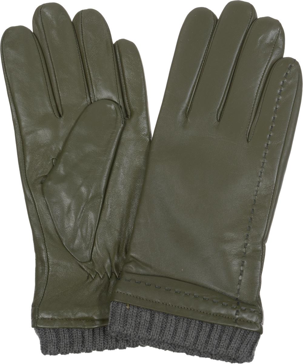 Перчатки мужские. IS982IS982Стильные мужские перчатки Eleganzza не только защитят ваши руки от холода, но и станут великолепным украшением. Перчатки выполнены из натуральной кожи ягненка с подкладкой из шерсти и отделкой из трикотажа. Модель декорирована отстрочками в тон перчаток и дополнена стяжкой на запястье. Перчатки станут завершающим и подчеркивающим элементом вашего стиля.