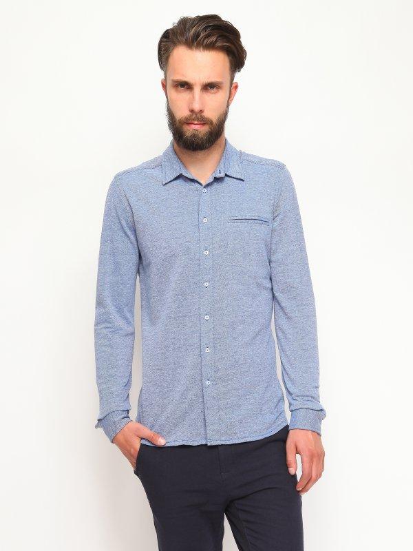РубашкаSKL1887NIМужская рубашка Top Secret, выполненная из высококачественного 100% хлопка, обладает высокой теплопроводностью, воздухопроницаемостью и гигроскопичностью, позволяет коже дышать, тем самым обеспечивая наибольший комфорт при носке. Модель классического кроя с отложным воротником застегивается на пуговицы. Длинные рукава рубашки дополнены манжетами на пуговицах. На груди расположен открытый втачной карман. Такая рубашка подчеркнет ваш вкус и поможет создать великолепный стильный образ.
