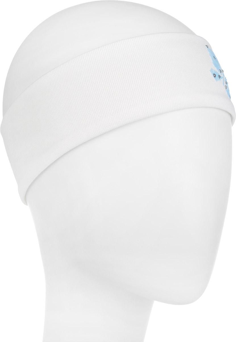 Повязка на голову для девочки. DC1438-22DC1438-22Очаровательная повязка на голову для девочки ПриКиндер отлично подойдет для солнечной жаркой погоды или для создания праздничного образа. Симпатичный аксессуар защитит голову от яркого солнца или возьмет на себя функцию ободка. Повязка выполнена из эластичного хлопка и декорирована бархатистой аппликацией в виде бабочки, украшенной стразами. Изделие не сдавливает голову малышки и превосходно тянется. Повязка завершит образ вашей маленькой принцессы и станет незаменимым аксессуаром в детском гардеробе. Уважаемые клиенты! Размер, доступный для заказа, является обхватом головы.