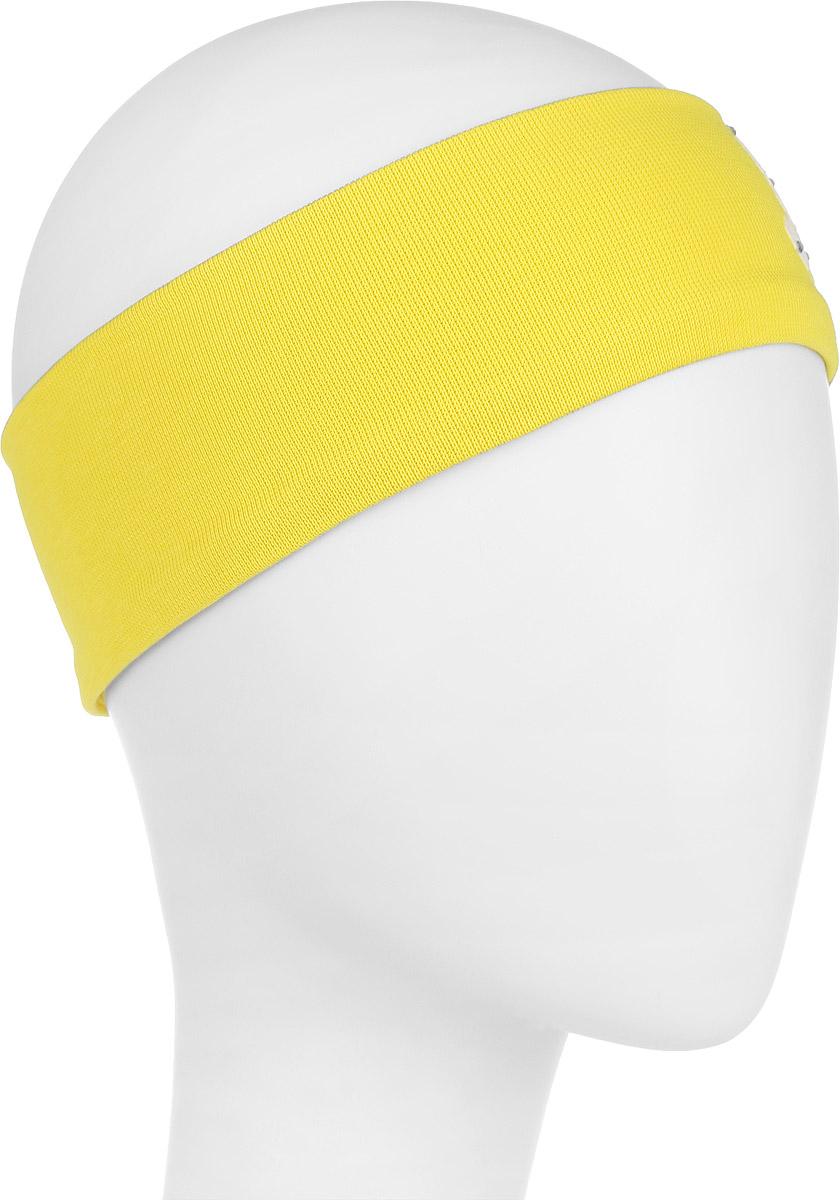 DC1438-22Очаровательная повязка на голову для девочки ПриКиндер отлично подойдет для солнечной жаркой погоды или для создания праздничного образа. Симпатичный аксессуар защитит голову от яркого солнца или возьмет на себя функцию ободка. Повязка выполнена из эластичного хлопка и декорирована бархатистой аппликацией в виде бабочки, украшенной стразами. Изделие не сдавливает голову малышки и превосходно тянется. Повязка завершит образ вашей маленькой принцессы и станет незаменимым аксессуаром в детском гардеробе. Уважаемые клиенты! Размер, доступный для заказа, является обхватом головы.