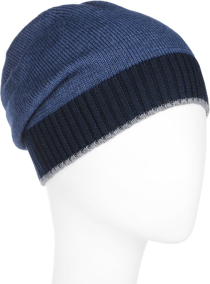 ШапкаA16-21158_606Стильная мужская шапка Finn Flare отлично дополнит ваш образ в холодную погоду. Сочетание шерсти и акрила максимально сохраняет тепло и обеспечивает удобную посадку. Шапка оформлена металлической эмблемой с логотипом производителя. Понизу предусмотрена неширокая вязаная резинка, выполненная в контрастных цветах. Такая модель комфортна и приятна на ощупь, она великолепно подчеркнет ваш вкус.