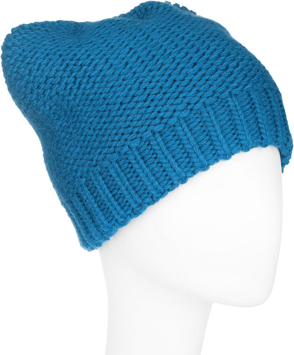 Шапка женская. A16-32125A16-32125_145Стильная женская шапка Finn Flare дополнит ваш наряд и не позволит вам замерзнуть в холодное время года. Шапка выполнена из высококачественной пряжи, что позволяет ей великолепно сохранять тепло и обеспечивает высокую эластичность и удобство посадки. Изделие дополнено теплой подкладкой. Модель оформлена металлической эмблемой с логотипом производителя. Понизу предусмотрена вязаная резинка. Такая шапка станет модным и стильным дополнением вашего гардероба. Она согреет вас и позволит подчеркнуть свою индивидуальность!