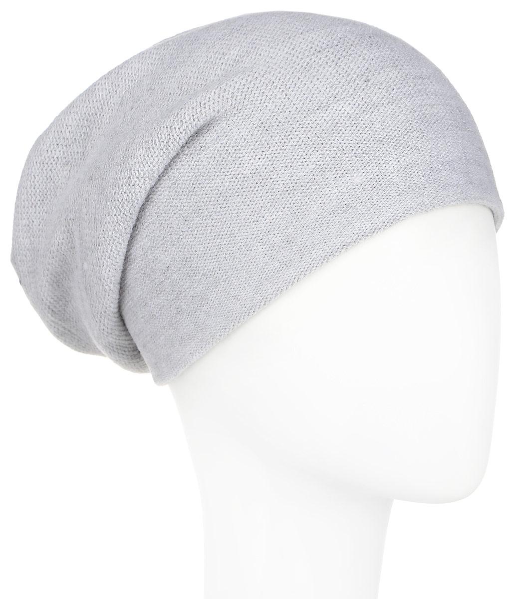 A16-11160_211Стильная женская шапка Finn Flare дополнит ваш наряд и не позволит вам замерзнуть в холодное время года. Шапка выполнена из высококачественной пряжи, что позволяет ей великолепно сохранять тепло и обеспечивает высокую эластичность и удобство посадки. Модель с удлиненной макушкой дополнена отверстием для хвоста и оформлена металлической эмблемой с логотипом производителя. Такая шапка станет модным и стильным дополнением вашего гардероба. Она согреет вас и позволит подчеркнуть свою индивидуальность!