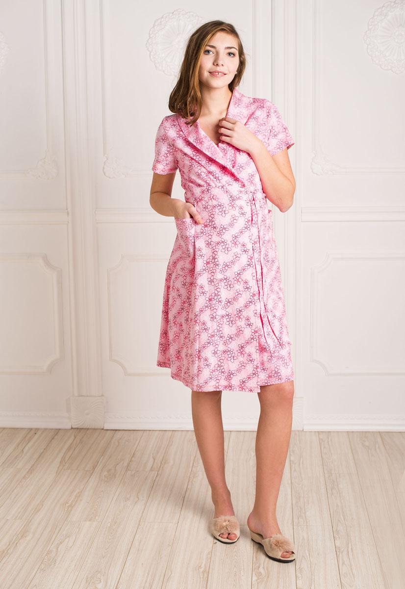 Комплект бельяК 07020Удобный, красивый комплект для беременных и кормящих мам Hunny Mammy, изготовленный из натурального хлопка, состоит из халата и сорочки, замечательно подходит для сна и отдыха. Халат на запах с широким поясом, короткими рукавами и воротником-шалькой по бокам дополнен вместительными накладными карманами. Сорочка с завышенной талией на бретелях дополнена клипсами для кормления. Такой комплект сделает отдых будущей мамы комфортным. Одежда, изготовленная из хлопка, приятна к телу, сохраняет тепло в холодное время года и дарит прохладу в теплое, позволяет коже дышать.