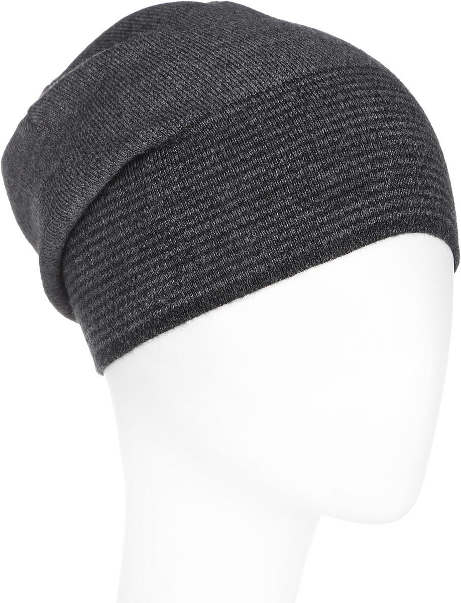 Шапка мужская. A16-21154A16-21154_202Стильная мужская шапка Finn Flare отлично дополнит ваш образ в холодную погоду. Сочетание шерсти и акрила максимально сохраняет тепло и обеспечивает удобную посадку. Шапка по низу оформлена принтом в тонкую полоску и металлической эмблемой с логотипом производителя. Такая модель комфортна и приятна на ощупь, она великолепно подчеркнет ваш вкус.