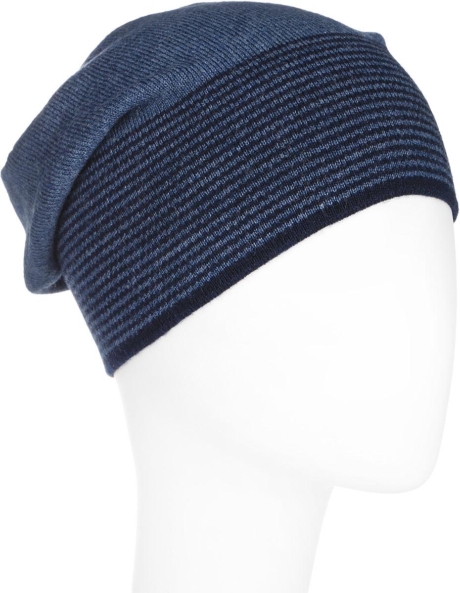 A16-21154_202Стильная мужская шапка Finn Flare отлично дополнит ваш образ в холодную погоду. Сочетание шерсти и акрила максимально сохраняет тепло и обеспечивает удобную посадку. Шапка по низу оформлена принтом в тонкую полоску и металлической эмблемой с логотипом производителя. Такая модель комфортна и приятна на ощупь, она великолепно подчеркнет ваш вкус.