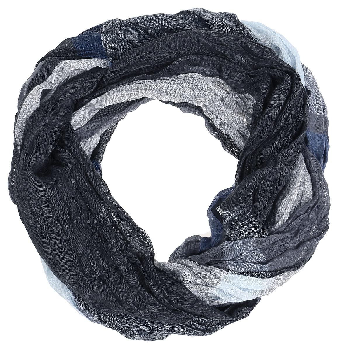 A16-21400_202Элегантный мужской шарф Finn Flare согреет вас в холодное время года, а также станет изысканным аксессуаром, который призван подчеркнуть ваш стиль и индивидуальность. Оригинальный теплый шарф выполнен из натурального хлопка. Широкий шарф оформлен рисунком в крупную клетку и дополнен тонкой бахромой по краю. Такой шарф станет превосходным дополнением к любому наряду, защитит вас от ветра и холода и позволит вам создать свой неповторимый стиль.