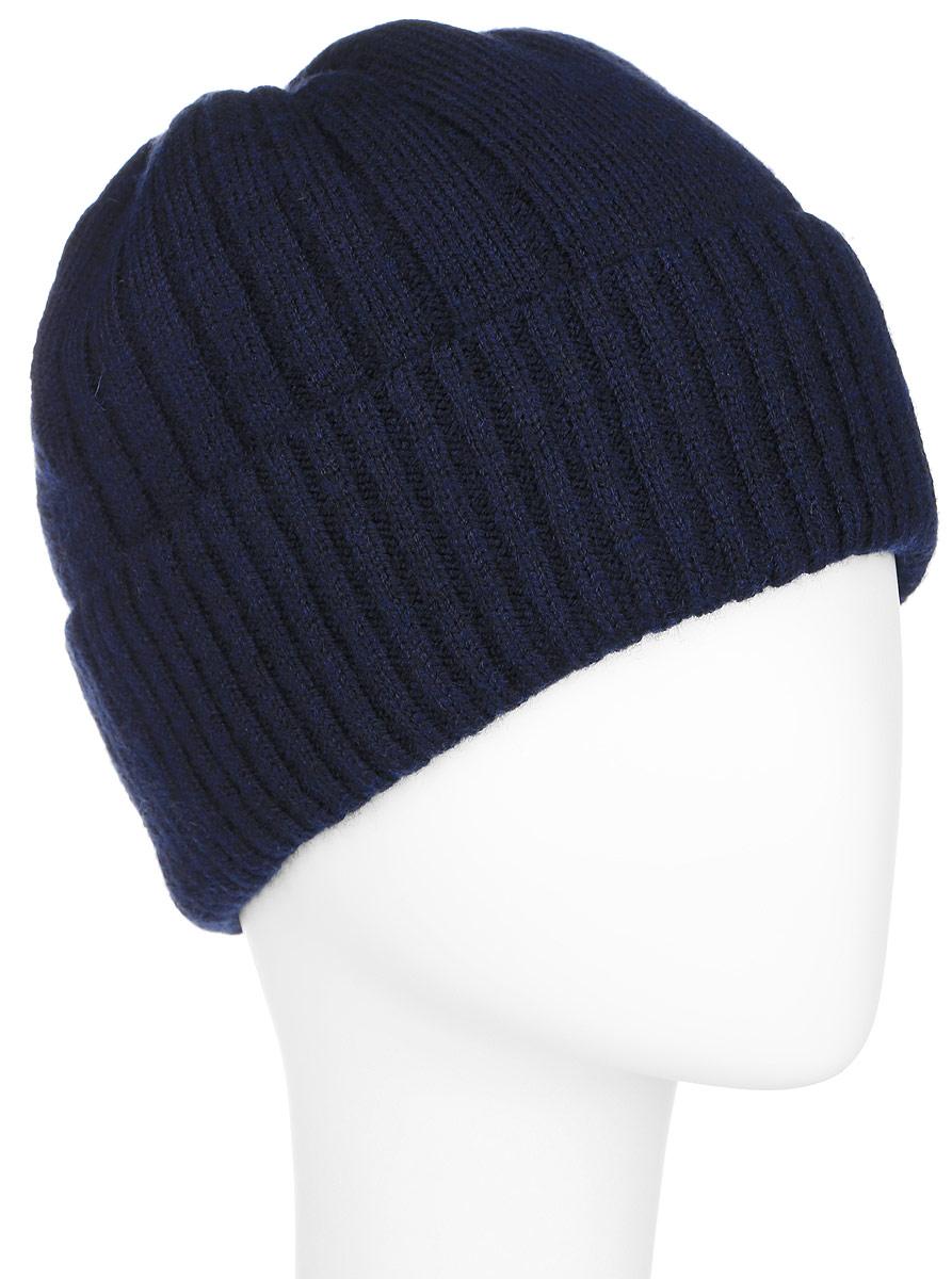 Шапка мужская. A16-21160A16-21160_200Стильная мужская шапка Finn Flare отлично дополнит ваш образ в холодную погоду. Сочетание шерсти и акрила максимально сохраняет тепло и обеспечивает удобную посадку. Шапка понизу дополнена широким отворотом и оформлена металлической эмблемой с логотипом производителя. Такая модель комфортна и приятна на ощупь, она великолепно подчеркнет ваш вкус.