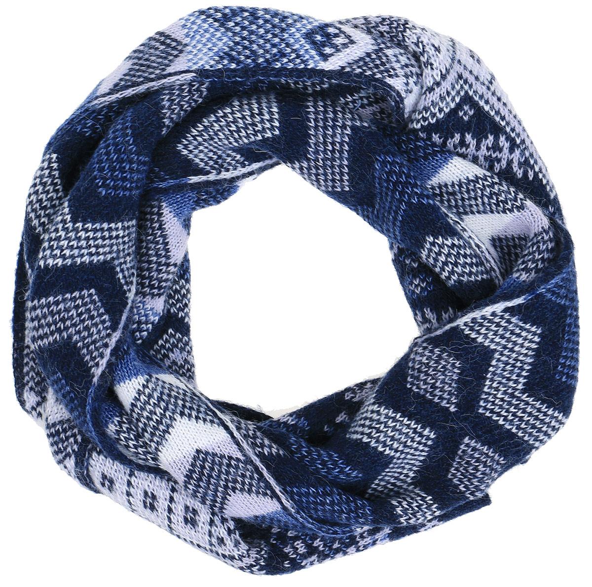 Шарф женский. A16-12137A16-12137_204Женский шарф Finn Flare станет отличным дополнением к вашему гардеробу в холодную погоду. Шарф, выполненный из шерсти с добавлением акрила, очень мягкий, теплый и приятный на ощупь. Модель оформлена вязаным орнаментом. Современный дизайн и расцветка делают этот шарф модным и стильным женским аксессуаром. Он подарит вам ощущение тепла, комфорта и уюта.