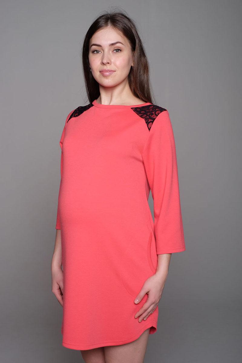 Платье16511Яркое платье-туника - замечательный вариант для модниц: отлично смотрится и с леггинсами, и отдельно - как маленькое платье.