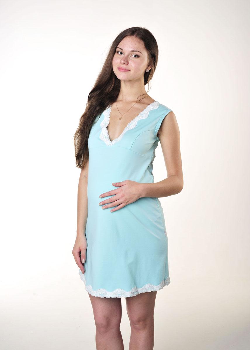 Ночная рубашкаП 06002Удобная, красивая сорочка для беременных и кормящих Hunny Mammy, изготовленная из эластичного хлопка, женственна и элегантна. Модель без рукавов и с V-образным вырезом горловины на груди и понизу отделана кружевом. Такая сорочка сделает отдых будущей мамы комфортным. Одежда, изготовленная из хлопка, приятна к телу, сохраняет тепло в холодное время года и дарит прохладу в теплое, позволяет коже дышать.