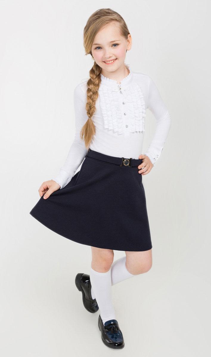20240180010_600Юбка для девочки Acoola Watson выполнена из высококачественного материала. Юбка средней длины имеет широкую эластичную резинку на поясе и дополнена декоративным поясом.