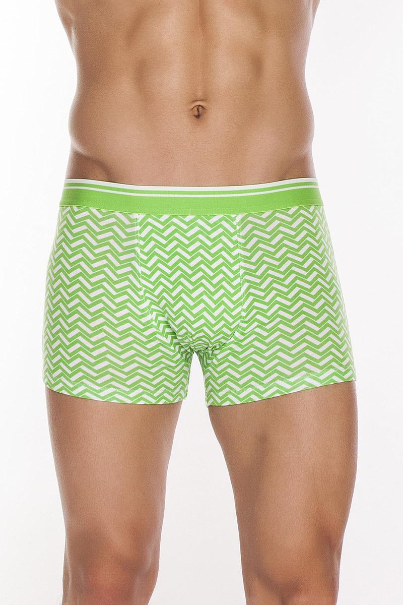 Трусы-шорты мужские. TMX3056TMX3056Трусы-шорты с жаккардовой резинкой из полотна с двухцветным графическим принтом.