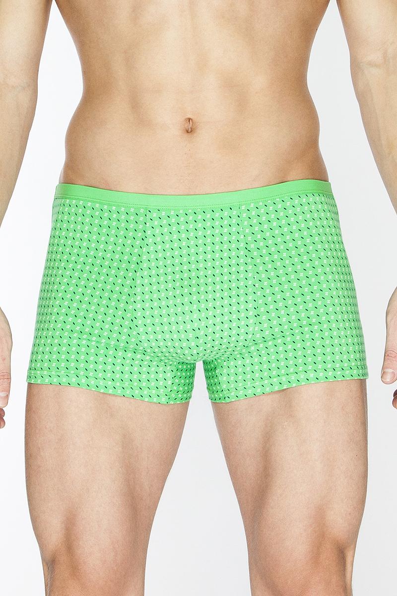 Трусы-шорты мужские. TMX3070TMX3070Облегающие трусы-шорты с узкой окантованной резинкой, выполненные из принтованного полотна.