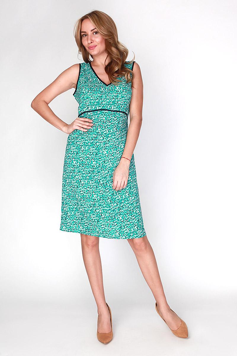 Платье. D-1-15-30D-1-15-30Элегантное платье Vis-A-Vis выполнено из 100% вискозы. Такое платье обеспечит вам комфорт и удобство при носке и непременно вызовет восхищение у окружающих. Модель-миди на широких бретельках с V-образным вырезом горловины выгодно подчеркнет все достоинства вашей фигуры. Изделие застегивается на скрытую застежку-молнию сбоку. Модель оригинальным принтом в виде абстрактных пятен. Изысканное платье-миди создаст обворожительный и неповторимый образ. Это модное и комфортное платье станет превосходным дополнением к вашему гардеробу, оно подарит вам удобство и поможет подчеркнуть свой вкус и неповторимый стиль.