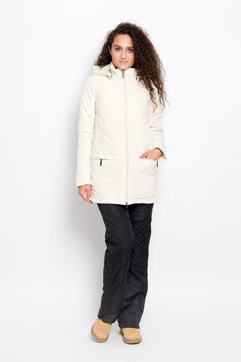 A16-32006_705Удобная женская куртка Finn Flare согреет вас в прохладную погоду и позволит выделиться из толпы. Удлиненная модель с длинными рукавами и высоким воротником-стойкой выполнена из прочного полиэстера с добавлением хлопка и застегивается на молнию спереди. Куртка имеет съемный капюшон на кнопках, объем которого регулируется при помощи шнурка-кулиски со стопперами. Изделие оформлено оригинальным стеганым узором и дополнено двумя втачными карманами на молниях и двумя нагрудными карманами на молниях спереди. Плотный наполнитель из синтепона надежно сохранит тепло, благодаря чему такая куртка защитит вас от ветра и холода. Эта модная и в то же время комфортная куртка - отличный вариант для прогулок, она подчеркнет ваш изысканный вкус и поможет создать неповторимый образ.