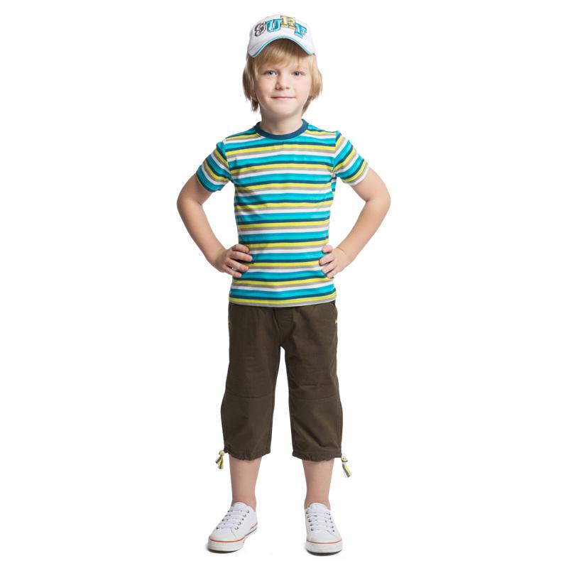 Бриджи161155Бриджи для мальчика PlayToday идеально подойдут вашему малышу и станут отличным дополнением к детскому гардеробу. Изготовленные из натурального хлопка, они необычайно мягкие и приятные на ощупь, не сковывают движения мальчика и позволяют коже дышать, не раздражают нежную кожу ребенка, обеспечивая ему наибольший комфорт. Бриджи на талии имеют широкую эластичную резинку на кулиске, благодаря чему они не сдавливают животик ребенка и не сползают. Имеется имитация ширинки. Спереди расположены два втачных кармана со скошенными краями, а сзади - имитация двух прорезных карманов. Низ брючин дополнен затягивающимися шнурками. Оформлено изделие металлическими клепками. В таких бриджах ваш маленький модник будет чувствовать себя комфортно, уютно и всегда будет в центре внимания!