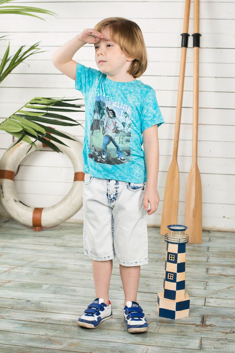 196378Удобные шорты для мальчика Sweet Berry идеально подойдут вашему маленькому моднику. Изготовленные из эластичного хлопка, они мягкие и приятные на ощупь, не сковывают движения, сохраняют тепло и позволяют коже дышать, обеспечивая наибольший комфорт. Шорты застегиваются на металлический крючок в поясе, также имеются шлевки для ремня и ширинка на металлической застежке-молнии. Объем пояса регулируется при помощи эластичной резинки с пуговицей изнутри. Шорты имеют классический пятикарманный крой: спереди модель дополнена двумя втачными карманами и одним маленьким накладным кармашком, а сзади - двумя накладными карманами. Практичные и стильные шорты идеально подойдут вашему малышу, а модная расцветка и высококачественный материал позволят ему комфортно чувствовать себя в течение дня!