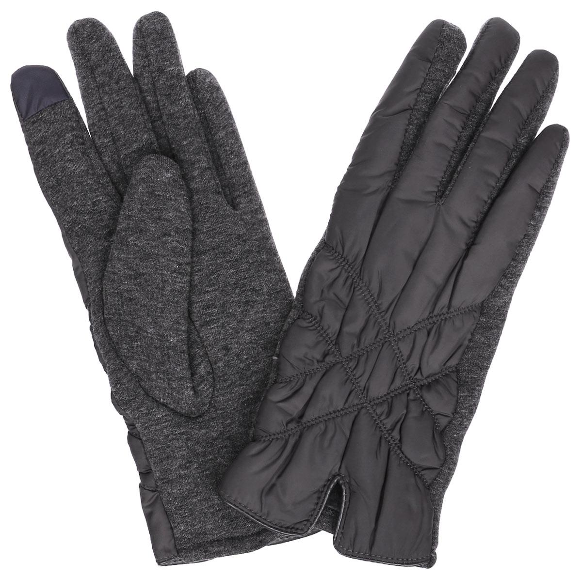 ПерчаткиA16-11305_204Отличные женские перчатки Finn Flare выполнены из высококачественного материала. Внешняя сторона из болоньевого материала оформлена декоративной прострочкой и небольшим разрезом. Ладонная сторона - из эластичного текстиля. Внутри - необыкновенно мягкий ворс. Такие перчатки обеспечат вам тепло и комфорт.