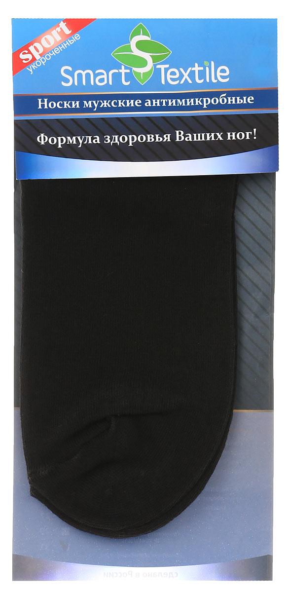 НоскиН417Удобные, укороченные мужские носки Smart Textile Гигиена-грибок, изготовленные из высококачественного комбинированного материала, идеально подойдут вам. Носки выполнены из эластичного хлопка с добавлением полиамида, что позволяет им легко тянуться, делая их комфортными в носке. Эластичная резинка плотно облегает ногу, не сдавливая ее, обеспечивая комфорт и удобство. Усиленная пятка и мысок обеспечивают надежность и долговечность. Противогрибковые носки Гигиена-грибок обладают специальными свойствами, благодаря дополнительной обработке швейцарским препаратом Sanitized Ag. Препарат Sanitized Ag разработан в Швейцарии, не вызывает раздражения кожи. Данный противогрибковый препарат, которым пропитаны текстильные волокна, выделяется из ткани, пока вы носите носки, благодаря чему обеспечивается надежная защита от болезнетворных микроорганизмов в течение длительного времени. Такие носки надежно защитят ваши ногти, пальцы и ступни ног от грибковых и гнойничковых заболеваний. Носки...