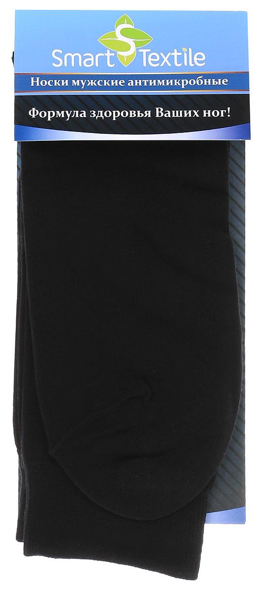 НоскиН418Удобные мужские носки Smart Textile Гигиена-грибок, изготовленные из высококачественного комбинированного материала, идеально подойдут вам. Носки выполнены из эластичного хлопка с добавлением полиамида, что позволяет им легко тянуться, делая их комфортными в носке. Эластичная резинка плотно облегает ногу, не сдавливая ее, обеспечивая комфорт и удобство. Усиленная пятка и мысок обеспечивают надежность и долговечность. Противогрибковые носки Гигиена-грибок обладают специальными свойствами, благодаря дополнительной обработке швейцарским препаратом Sanitized Ag. Препарат Sanitized Ag разработан в Швейцарии, не вызывает раздражения кожи. Данный противогрибковый препарат, которым пропитаны текстильные волокна, выделяется из ткани, пока вы носите носки, благодаря чему обеспечивается надежная защита от болезнетворных микроорганизмов в течение длительного времени. Такие носки надежно защитят ваши ногти, пальцы и ступни ног от грибковых и гнойничковых заболеваний. Носки...