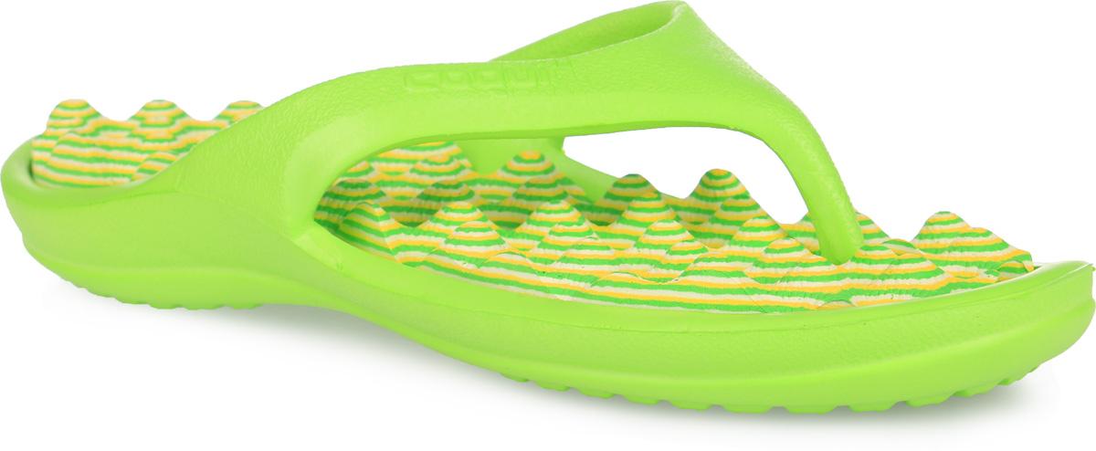 6612/6614Яркие, многофункциональные, комфортные сланцы от Аллигаша придутся по душе вашей дочурке. Верх модели выполнен из резины и оформлен на ремешке буквенным тиснением. Ремешки с перемычкой гарантируют надежную фиксацию модели на ноге. Верхняя часть подошвы, изготовленная из ЭВА материала, дополнена рифлением, предотвращающим выскальзывание ноги и обладающим массажным эффектом. Материал ЭВА имеет пористую структуру, обладает великолепными теплоизоляционными и морозостойкими свойствами, 100% водонепроницаемостью, придает обуви амортизационные свойства, мягкость при ходьбе, устойчивость к истиранию подошвы. Рельефное основание подошвы обеспечивает уверенное сцепление с любой поверхностью. Удобные сланцы прекрасно подойдут не только для похода в бассейн или на пляж.