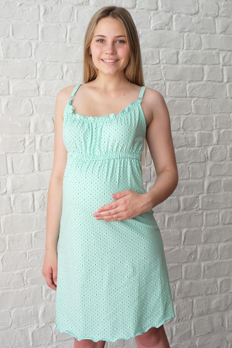 Ночная рубашкаП07502Удобная трикотажная ночная сорочка для беременных и кормящих Hunny Mammy, изготовленная из высококачественного хлопкового материала с добавлением эластана. Сорочка на тонких бретелях с клипсами для кормления. Верх сорочки дополнен эластичными резинками и элегантными складочками. Модель выполнена в лаконичном стиле. Одежда, изготовленная из хлопка, приятна к телу, сохраняет тепло в холодное время года и дарит прохладу в теплое, позволяет коже дышать.