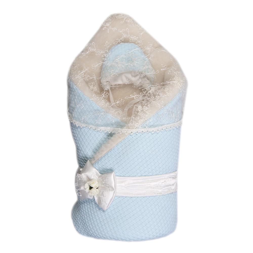 Сонный Гномик Конверт-одеяло на выписку для мальчиков Жемчужинка. 1709М